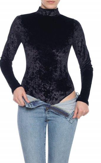 taylor hill x joe's | velvet bodysuit