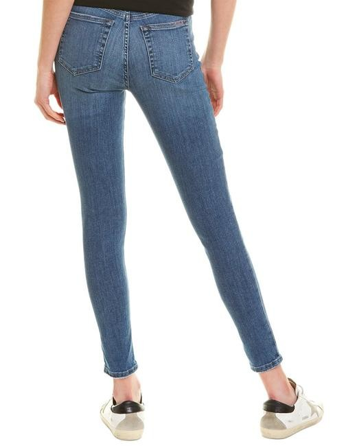 HIGH RISE SKINNY ANKLE W/ EXP BTTNS