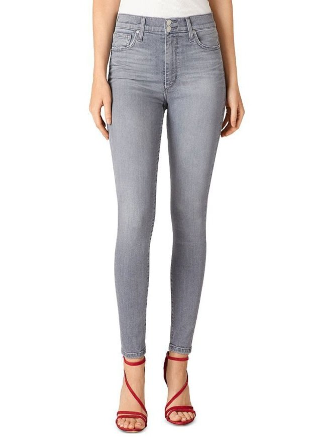 HIGH RISE SKINNY ANKLE W/ 2 BTTNS