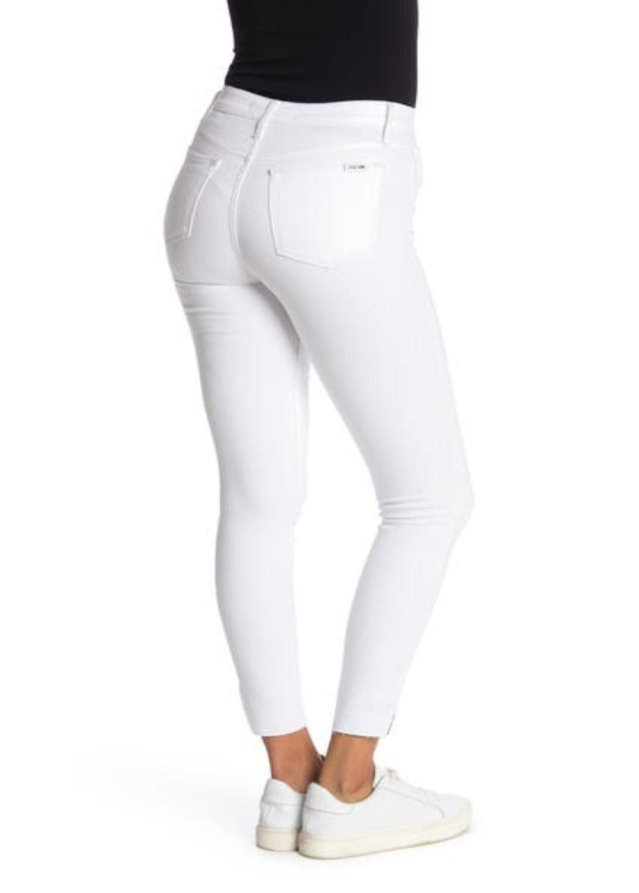 HIGH RISE SKINNY ANKLE CUT W/ SIDE VENT