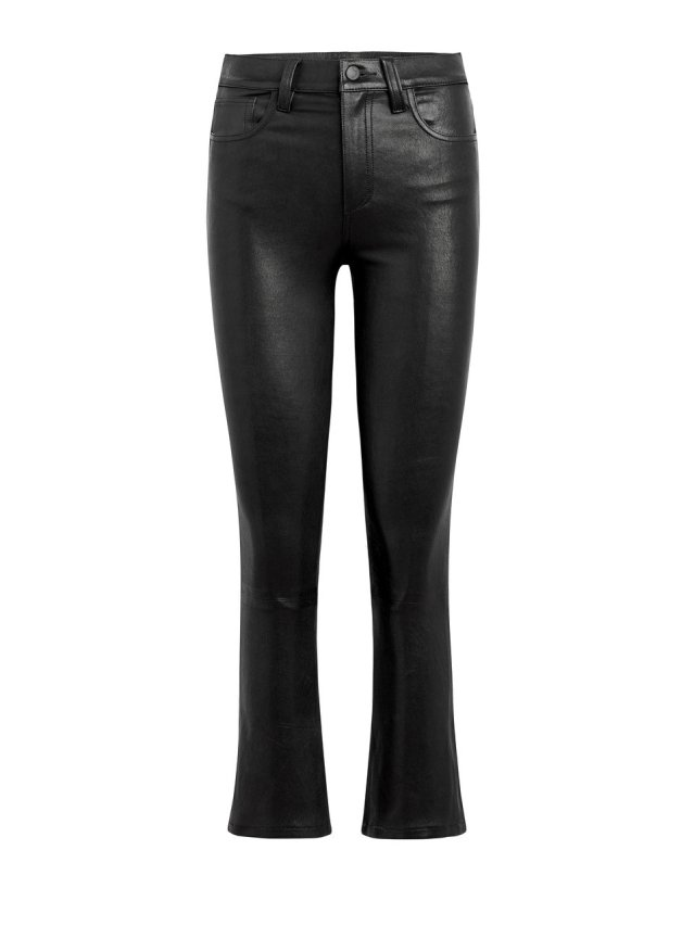 stretch leather the cropped boot