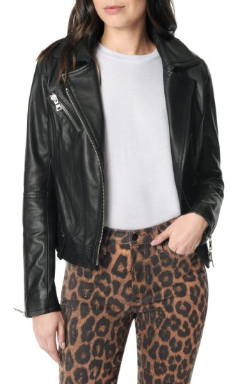 raquel moto leather jacket