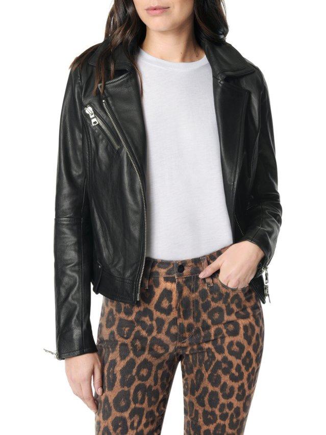 raquel moto leather jacket