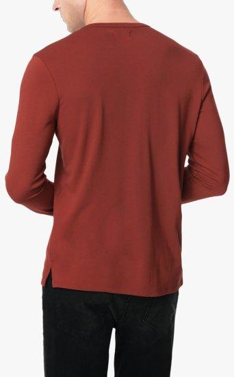 wintz henley luxe solid jersey