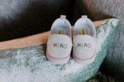 Baby Shoes Hero - Girl
