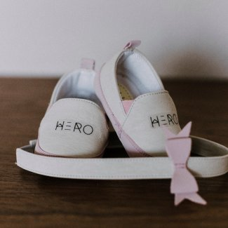 Baby Shoes Hero - Girl