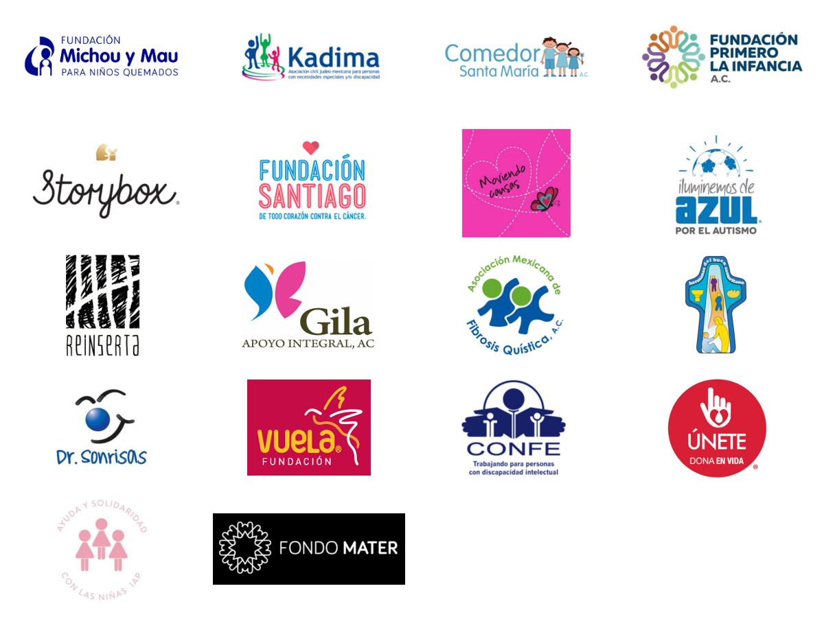 Logotipos de fundaciones