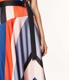 Vestido rayas asimétrico