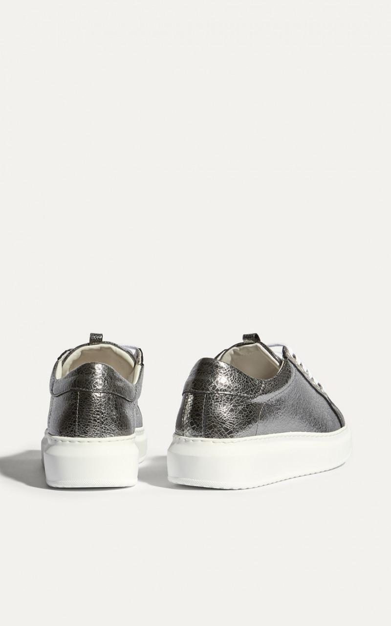 Zapatillas de piel plataforma