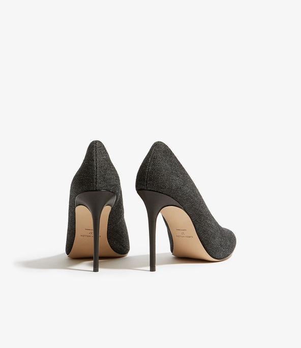 Zapatos salón empeine abierto