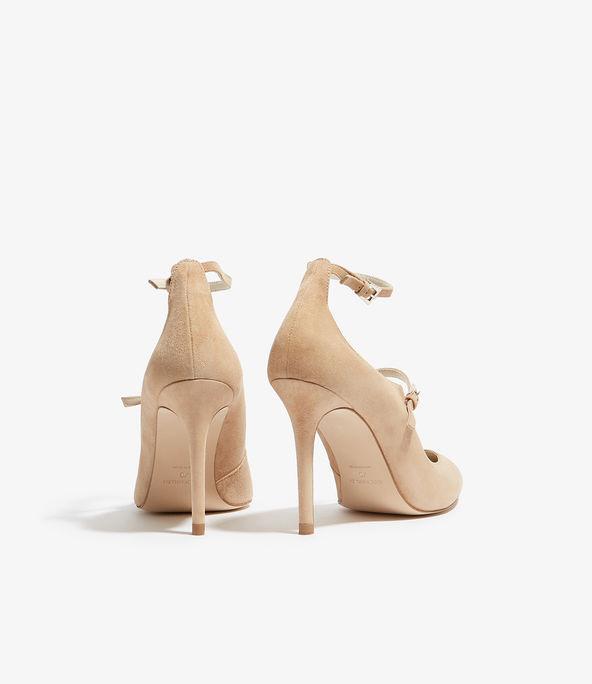 Zapatos salón tiras