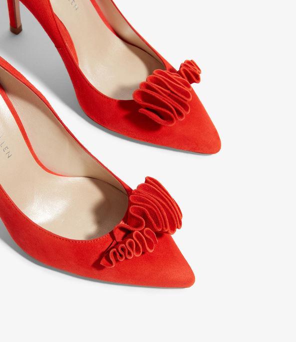 Zapatos salón volante