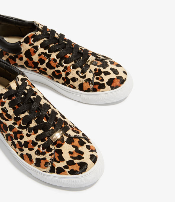 Zapatillas estampado leopardo