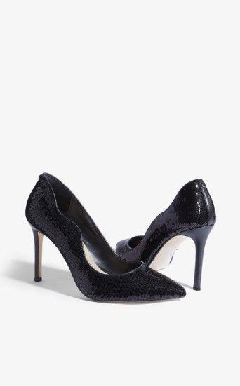 Zapatos salón lentejuelas