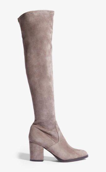 Botas encima rodilla ante