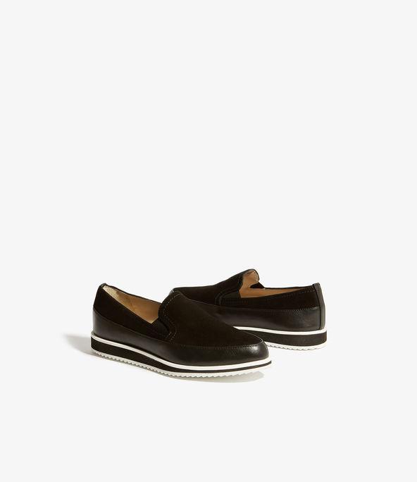 Zapatos deportivos piel