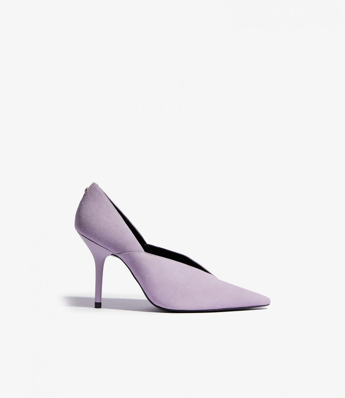 Zapatos salón piel