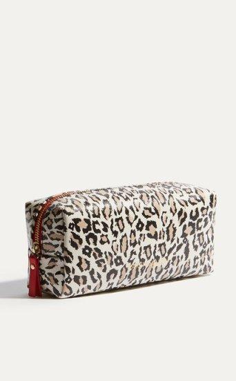 Neceser viaje leopardo