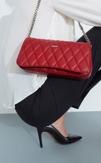 Mini Quilted Shoulder Bag