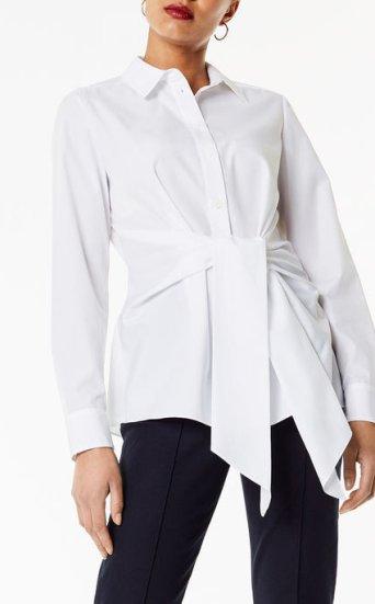 Camisa cruzada