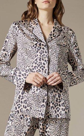 Camisa pijama leopardo
