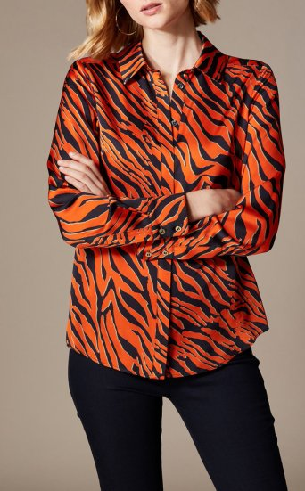 Camisa estampado tigre