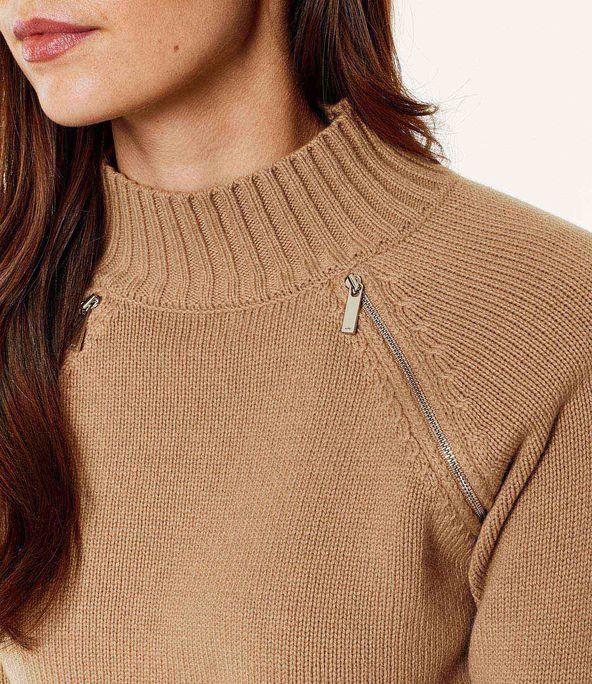 Jersey lana cuello alto