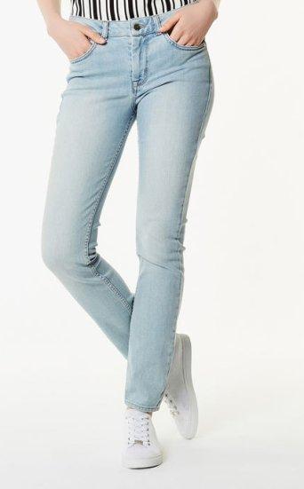 Jeans azules talle alto