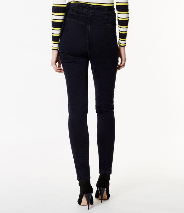Jeans pitillo cintura alta