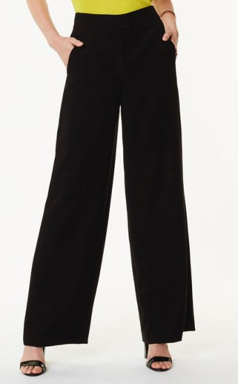 Pantalones sastre anchos