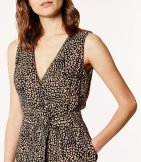 Jumpsuit leopardo bloques color