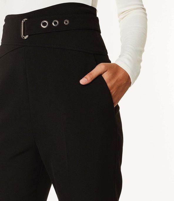 Pantalones entallados corsé