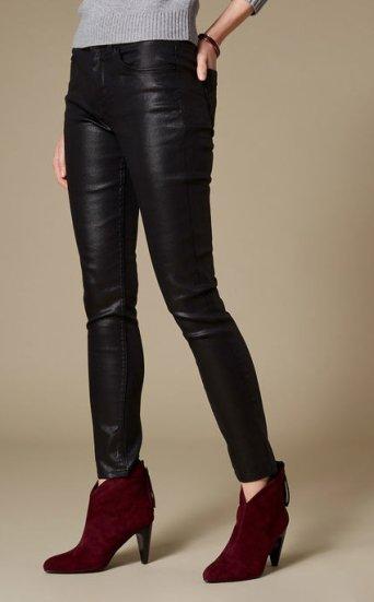 Jeans pitillo revestidos