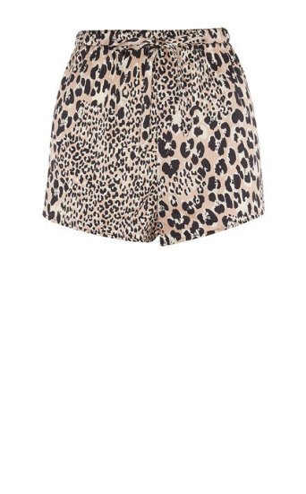 Shorts pijama leopardo