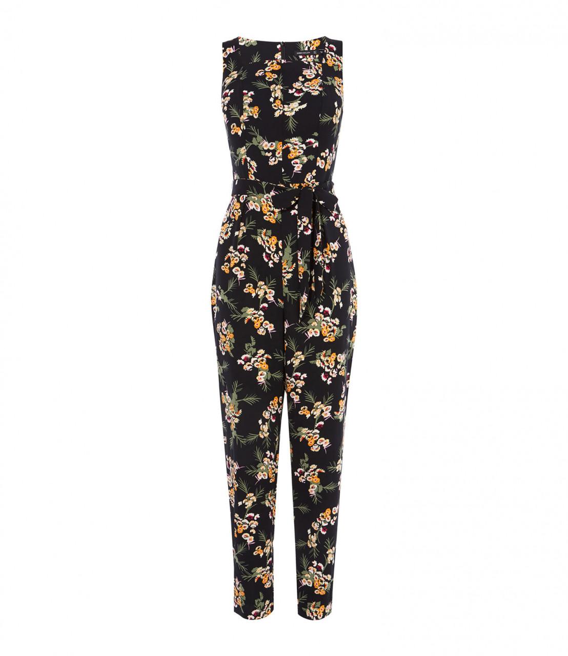 Jumpsuit floral sastre