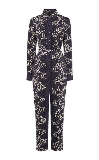 Jumpsuit estampado serpiente