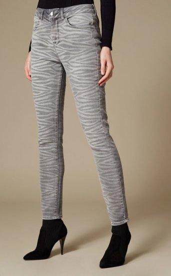 Jeans pitillo zebra