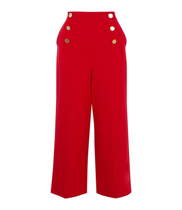 Pantalones cintura botones
