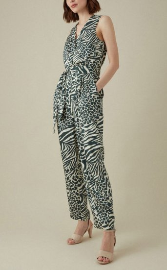 Jumpsuit estampado animal