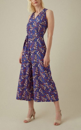 Jumpsuit estampado floral