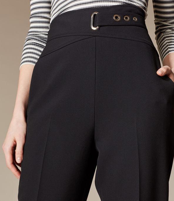 Pantalones corsé entrelazados