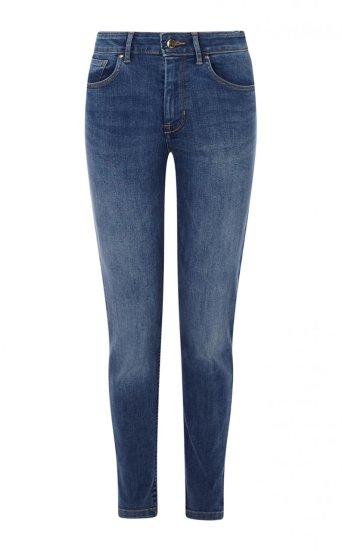 Jeans deslavado medio