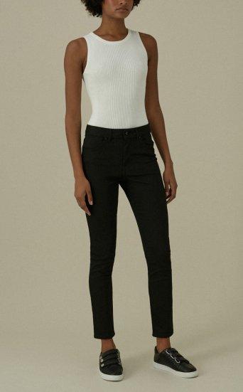 Jeans skinny altura media