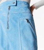 Minifalda de ante