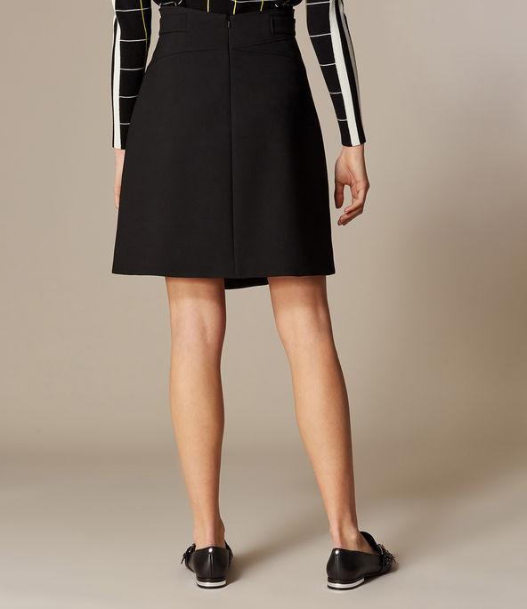 Minifalda cruzada