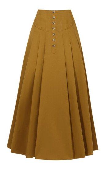 Button Through Skirt