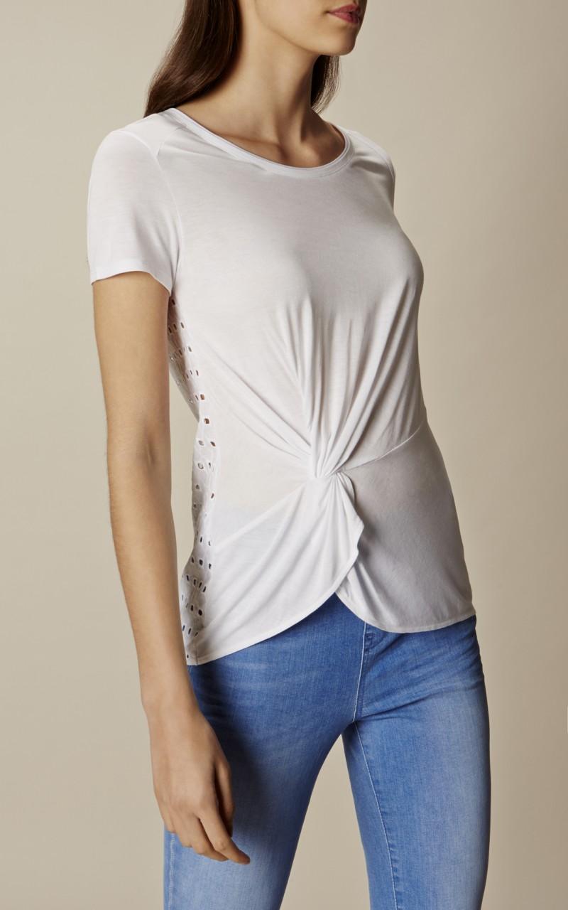 Camiseta espalda calada