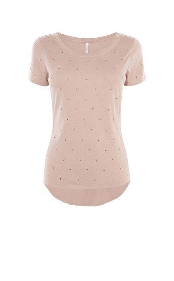 Camiseta adorno pedrería