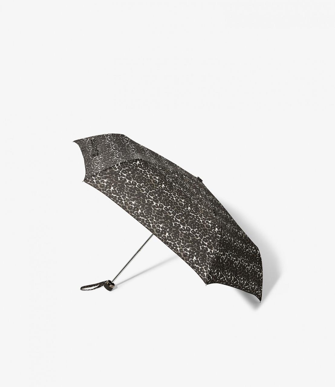 Paraguas estampado leopardo