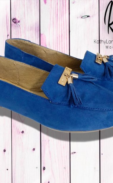SLIPPERS COLOR AZUL🥿